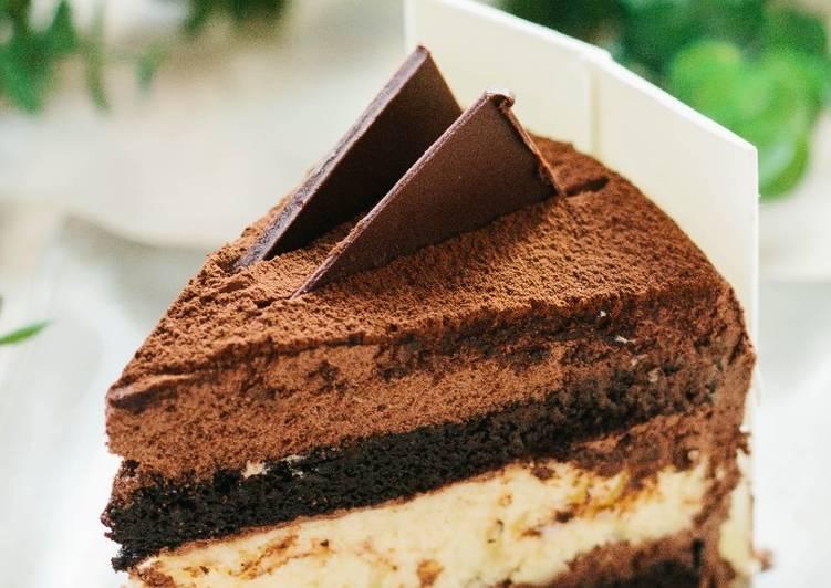 New Year's chocolate cake!