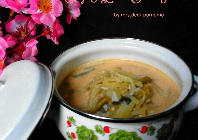 Sayur Labu Siam Pedas