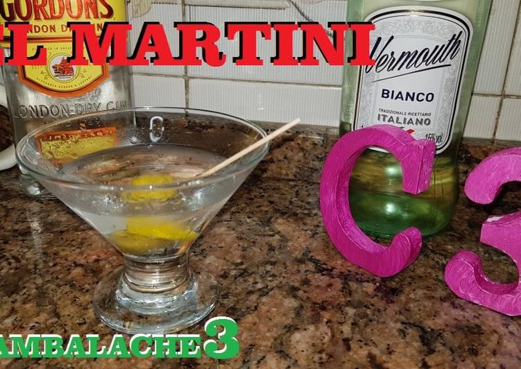 Declaración Náutico tablero  El Martini Receta de CAMBALACHE3- Cookpad