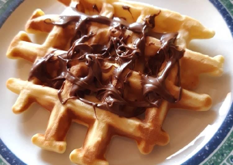 Ricetta Waffles della nonna !!