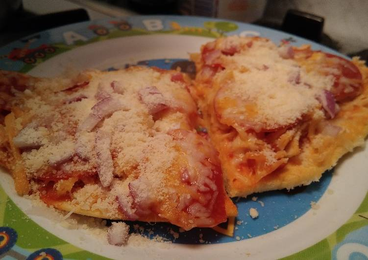 Pizza Crust- Low Carb & Keto