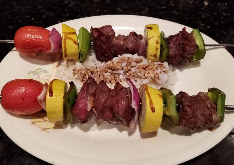 Teriyaki - Beef Kabobs