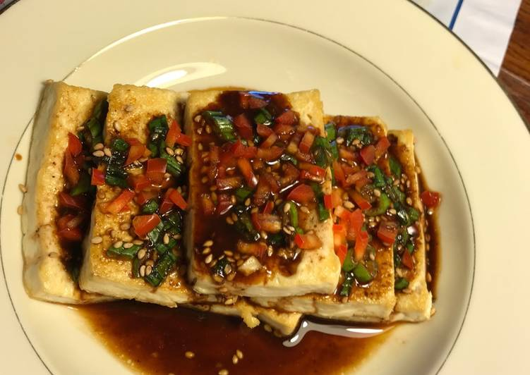 How to Elevate Your Mood with Food Towards the End of the Month Menu (Part One) Tofu in Soy Sauce