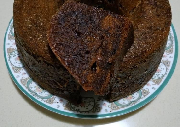 cara membuat Bolu Karamel (Sarang Semut) - Sajian Dapur Bunda