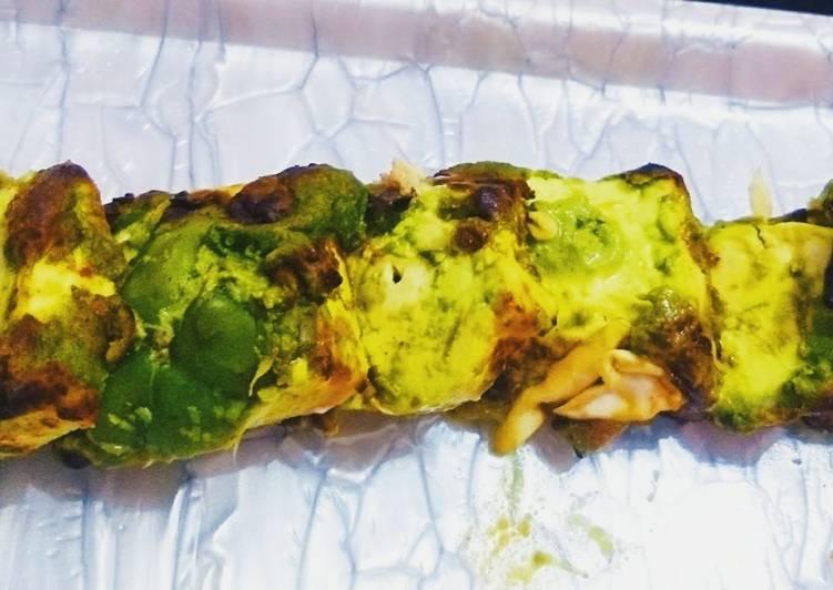 What is Dinner Ideas Quick Paneer hariyali tikka