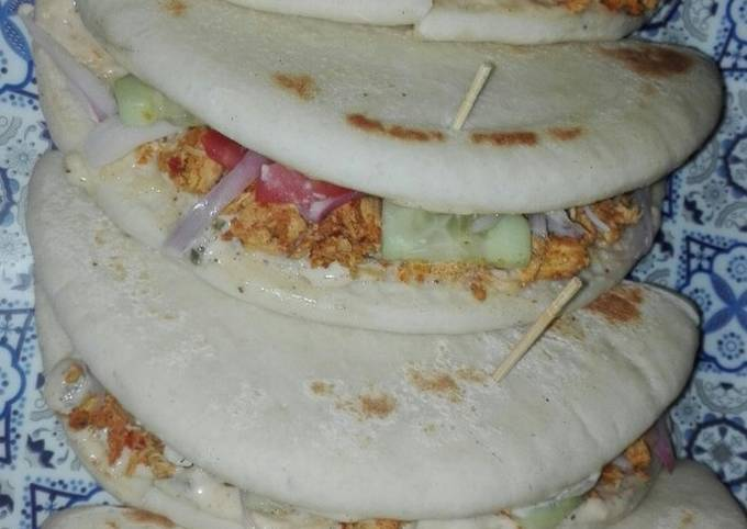Simple Way to Prepare Speedy Chicken Fajitas Shawarma