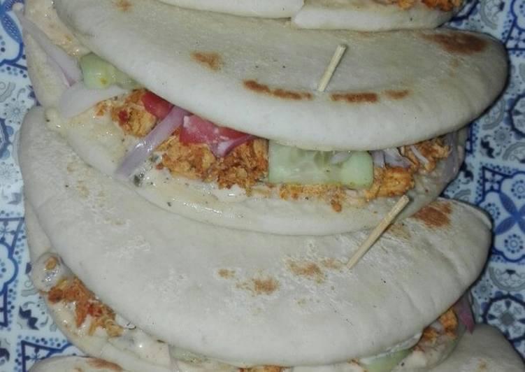 Chicken Fajitas Shawarma