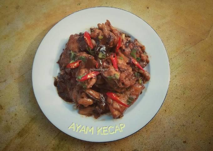 Ayam Kecap (bumbu minimalis)