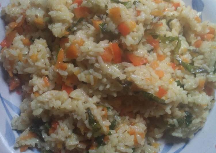 Easiest Way to Prepare Homemade Vegetable rice