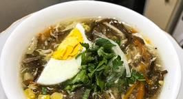 Hình ảnh món Súp gà nấm (súp ngày tết)