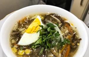 Súp gà nấm (súp ngày tết)