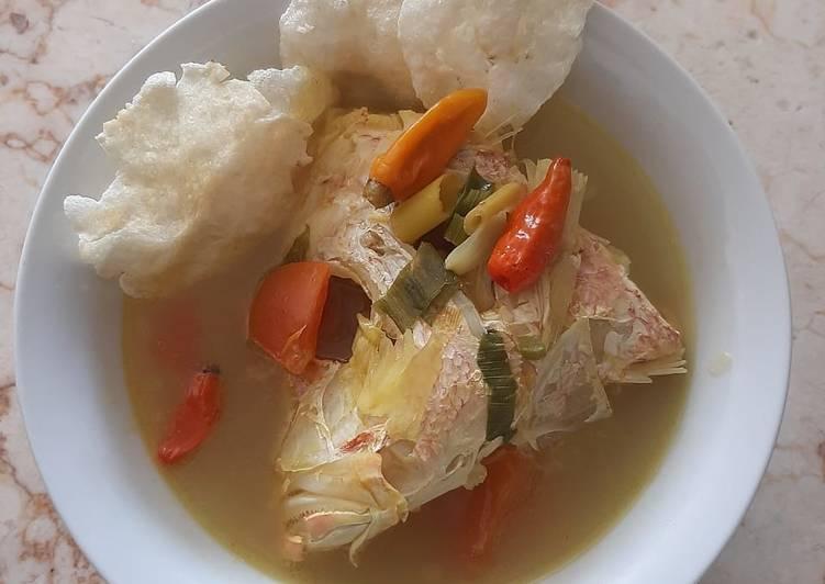Sup kepala ikan kakap