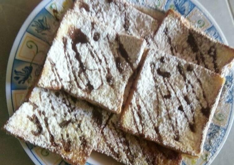 Resep Roti panggang teflon Paling Mudah