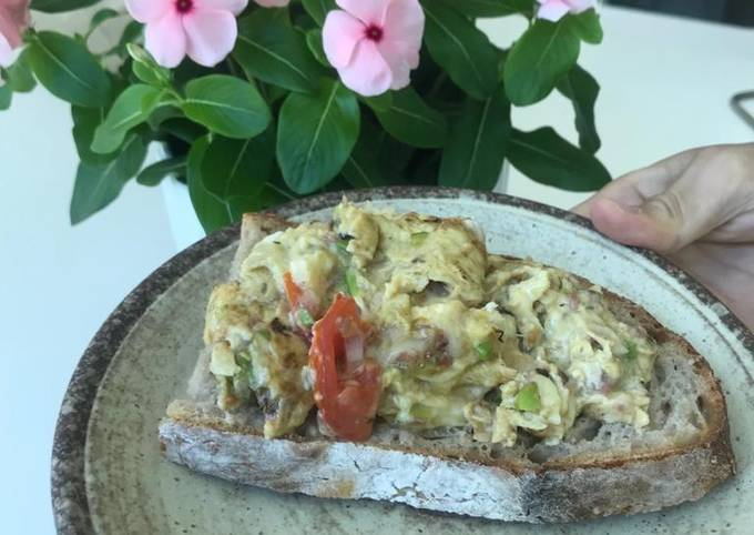 Omelette egg 🍳