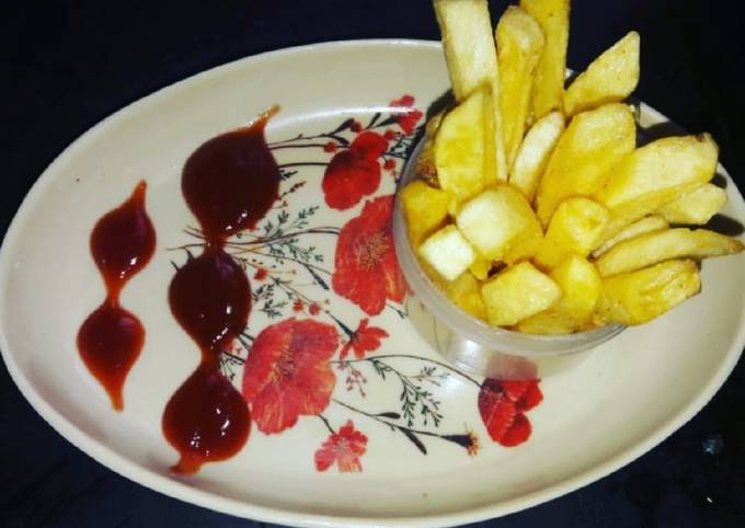 Restaurant Style French Fries