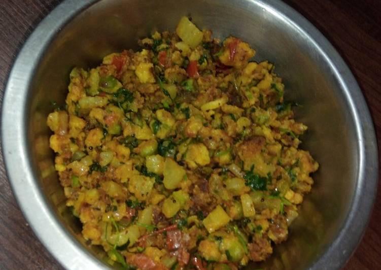 Mooli besan ki subzee (radish curry) Finding Healthy Fast Food