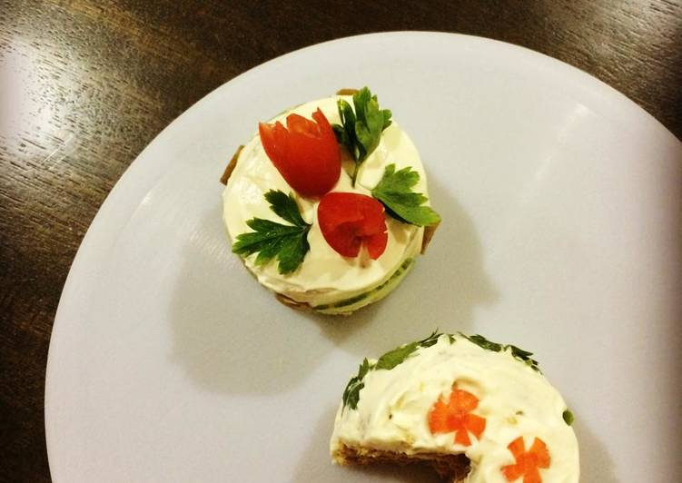 How to Cook Delicious Mini Sandwich Cakes (Smorgastarta)