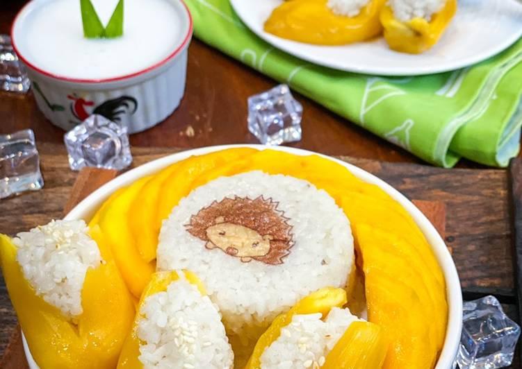 Mango & Jackfruit Sticky Rice ala Tiger Kitchen