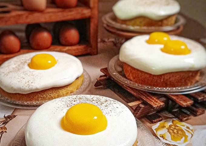 Kek Telur Mata Mango Cheese