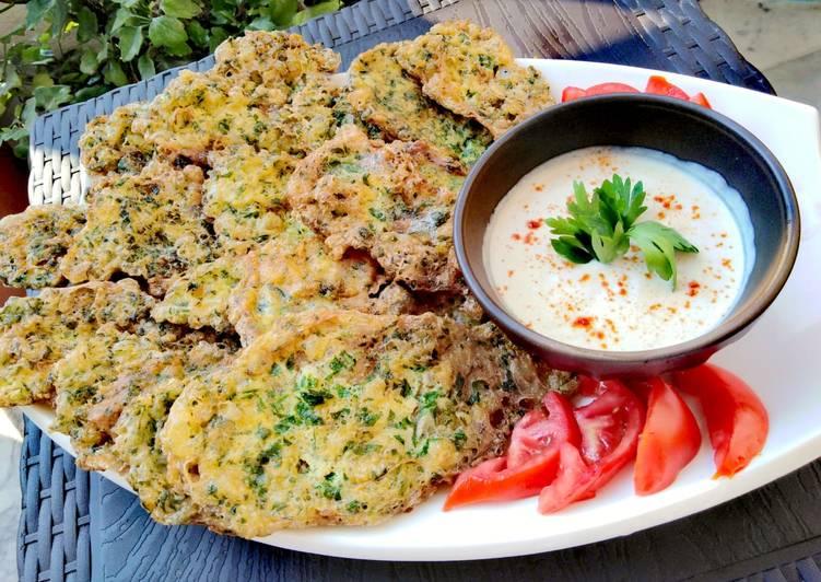 EJEH/ lebanese fresh-herb omelette