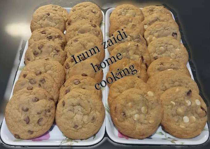 Steps to Make Gordon Ramsay 🍫🍪White Chocolate Cranberry Cookies🍪🍫