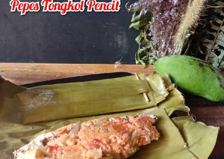 Pepes Tongkol Pencit / Mangga Muda