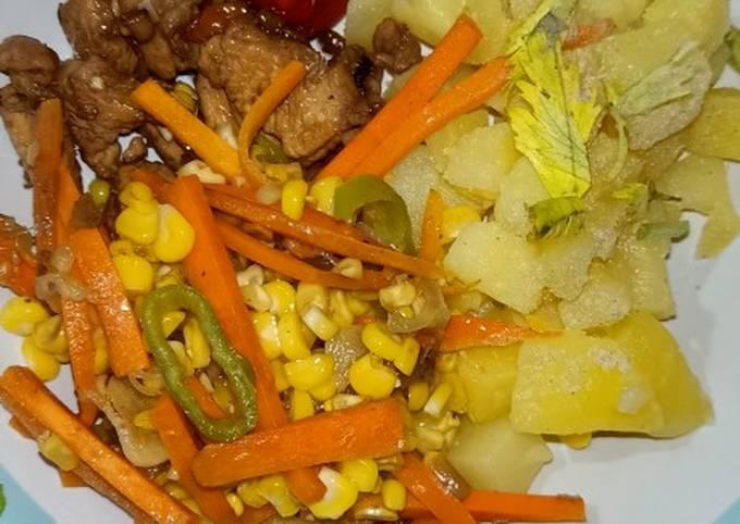 Menu Diet (DAY-1) Makan Malam