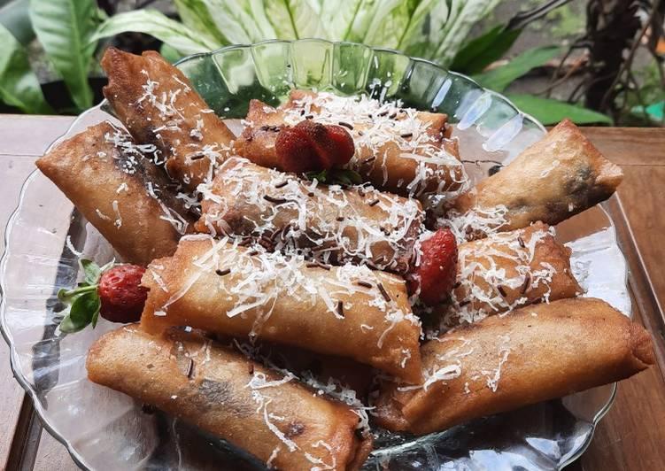 Piscok keju (pisang kepok)