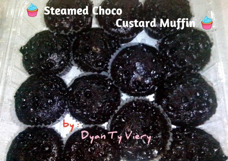Resep Muffin Custard Cokelat Kukus Bikin Ngiler