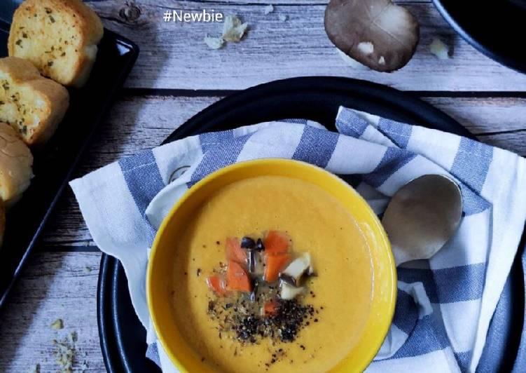 Carrot + Mushroom Soup