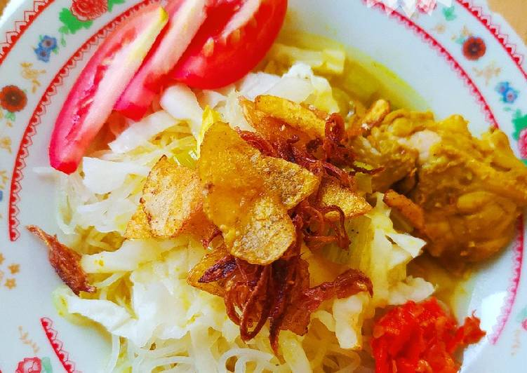 Soto Ayam Lamongan ala Dapoer Kia - cookandrecipe.com