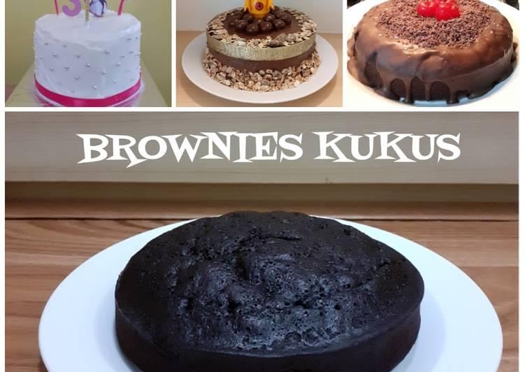 Resep Brownies Kukus tanpa mixer & Tart (tdk terlalu manis) Bikin Ngiler