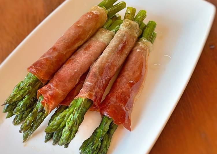 Steps to Make Super Quick Homemade Asparagus & Parma Ham