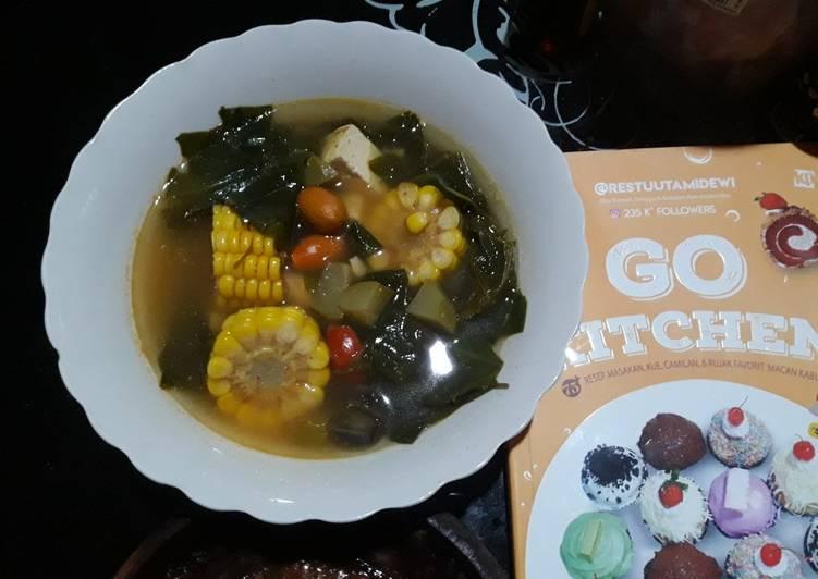 Sayur asem (recook dr buku Go Kitchen)