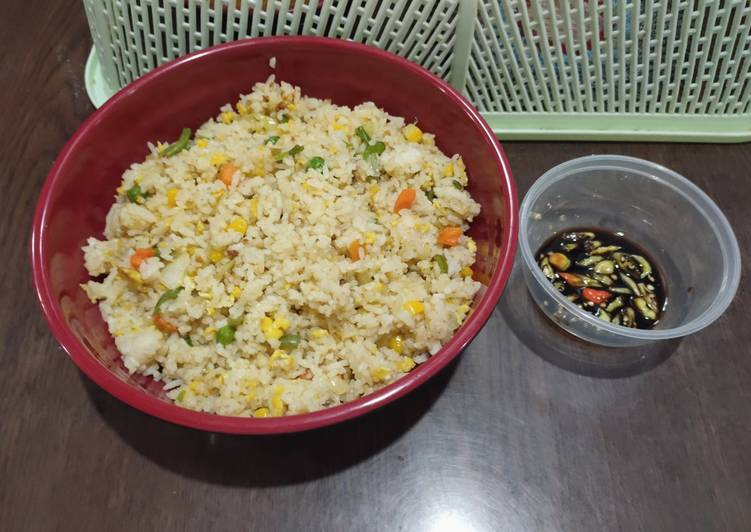 Resep 🌷 Nasi Goreng Hongkong 🌷 Bikin Laper