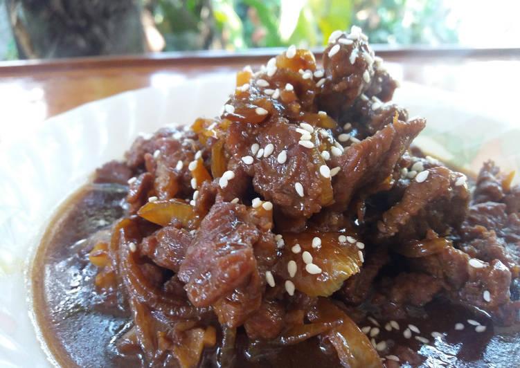 Daging Sapi Masak Saus Oriental