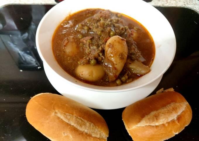 My Chilli Tasting Beef Stew 😋😋