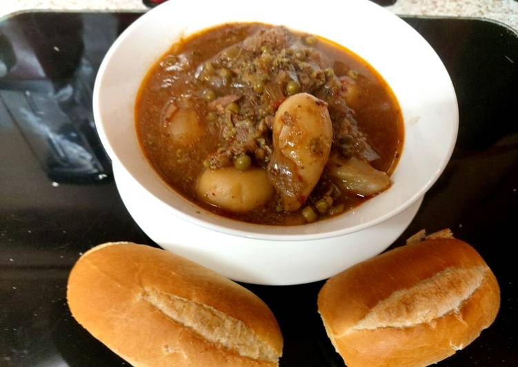 Recipe of Perfect My Chilli Tasting Beef Stew 😋😋