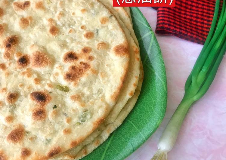 Resep Scallion Pancake / Cōng yóu bǐng (蔥油餅) Bikin Jadi Laper