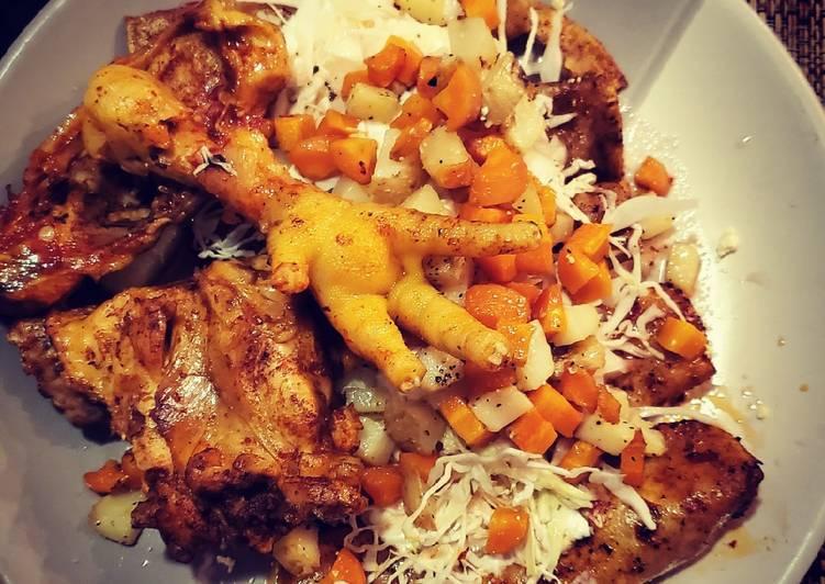 Enchiladas placeras con cecina/pollo