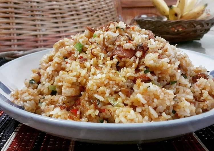 Nasi Goreng Special BaSis (Baso&Sosis)