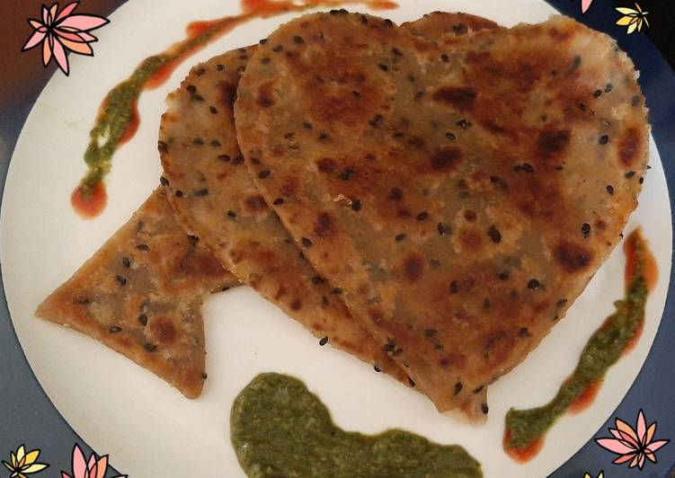 25 Minute How to Make Any Night Of The Week Sweet Potato Paratha