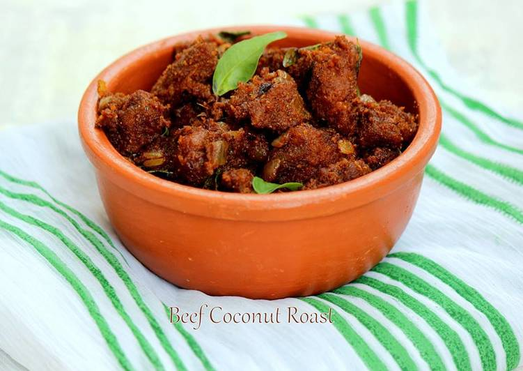Beef Coconut Roast, Coconut Oil Is Really A Wonderful Product And Can Also Be Beneficial For Your Health