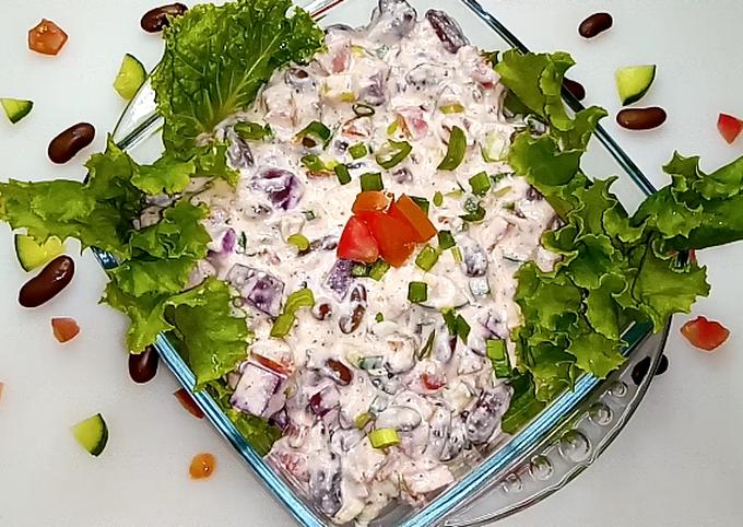 Healthy and Tasty Veggie Salad