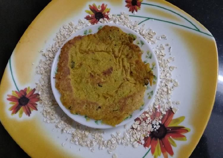 Recipe: Delicious Oats vegetable chilla