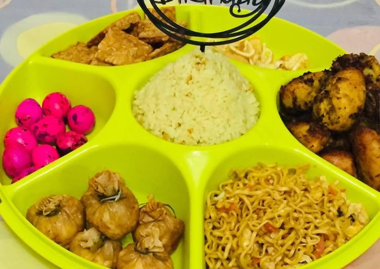 Nasi Kuning Rice Cooker  (Versi Ulang Tahun)
