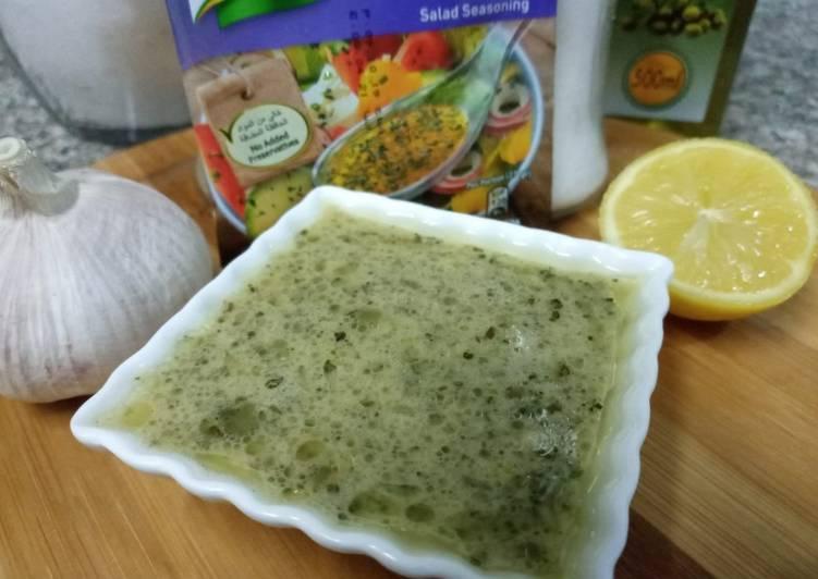 Recipe of Greek selad Dressing Award-winning