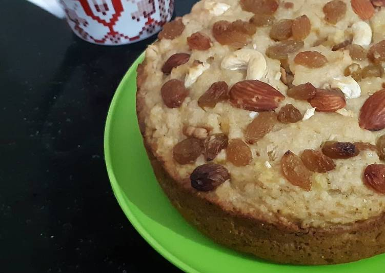 Wholewheat Banana Cake