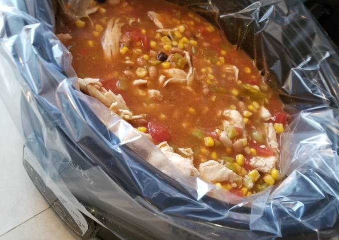 Recipe: Tasty Chicken Taco Soup