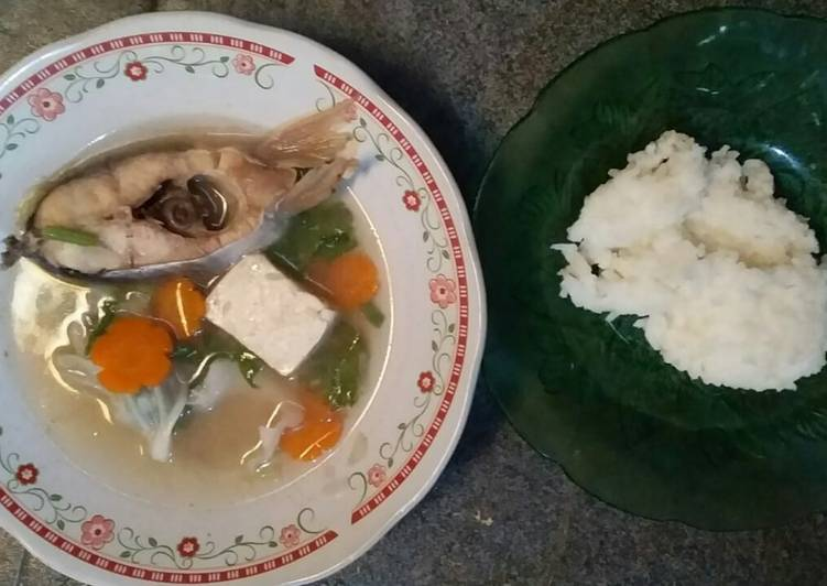 Sup ikan simpel menu 4 bintang. 12 bulan keatas